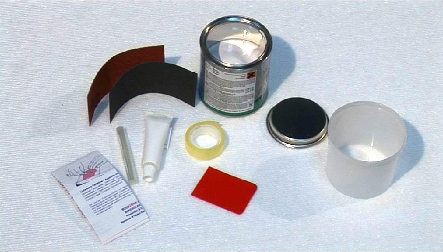 yachtcare gelcoat reparatur set 200 g gfk polyester. Black Bedroom Furniture Sets. Home Design Ideas
