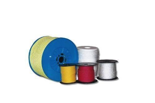 Kunststoffhaken für 4-6 mm Leine WEISS 10-Stück-Packung Haken Kunststoff