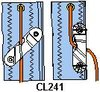 Clamcleat® CL 241 Trimcleat